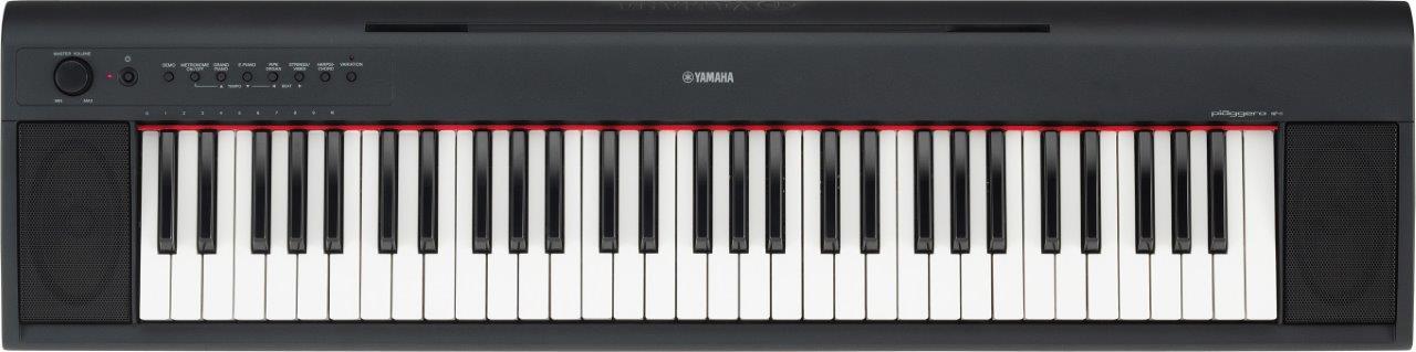 Yamaha Piaggero NP11 - a top 10 61 key keyboard piano for beginners