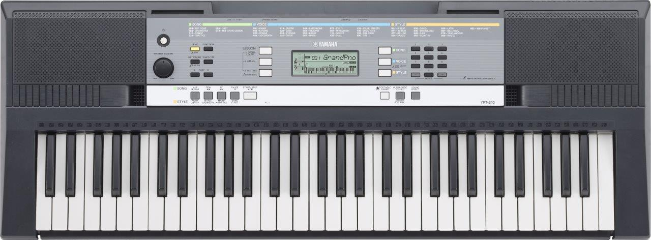 Yamaha YPT240 - - a top 10 61 key keyboard piano for beginners