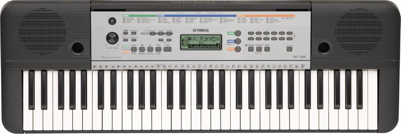 Yamaha YPT255 - a top 10 61 key keyboard piano for beginners