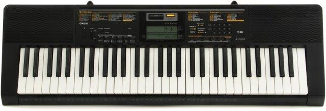 Casio CTK2400 - a top 10 61 key keyboard piano for beginners