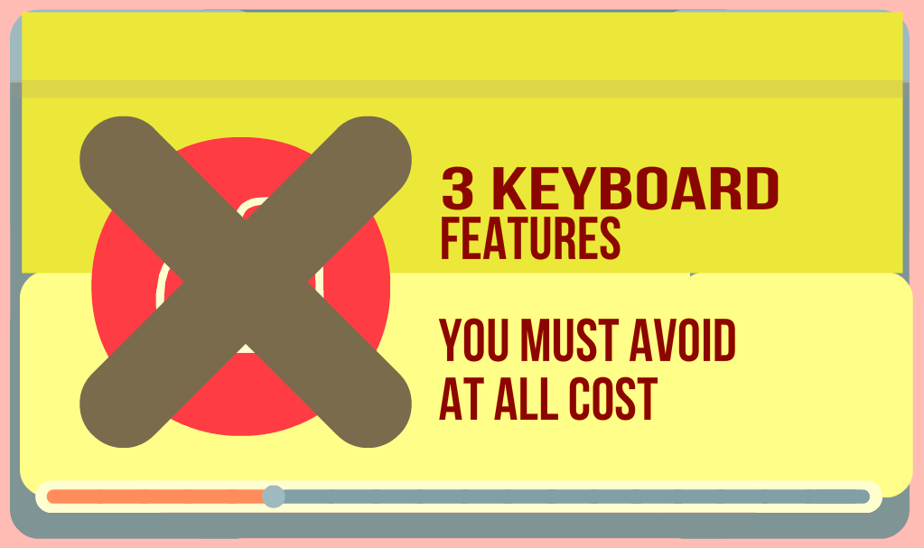 avoid these features when choosing your beginner keyboard