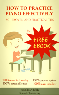 free ebook cover how to practice piano effectively