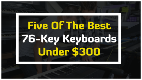 best 76 key keyboards under 300